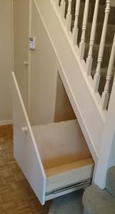 Under stairs storage 2