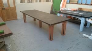 Big slate topped table 2