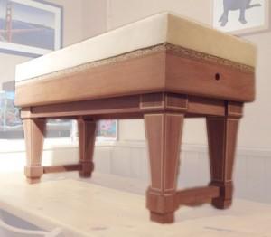 Mahogany-Piano-Stool